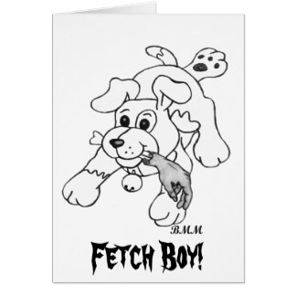 Fetch Boy Card