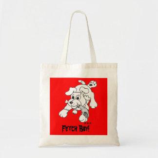 Fetch Boy Tote Bag