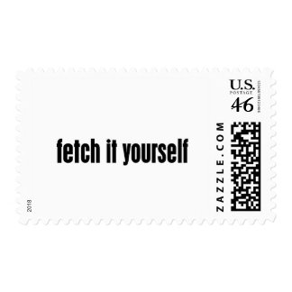 fetch it yourself postage