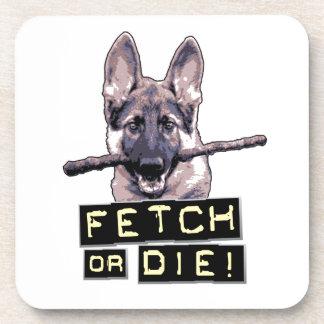 Fetch or Die! Beverage Coasters