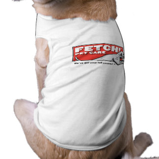 Fetch! Pet Care - Dog T-Shirt with Logo