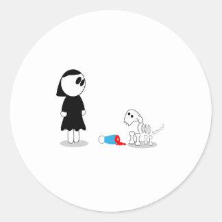Fetch Classic Round Sticker