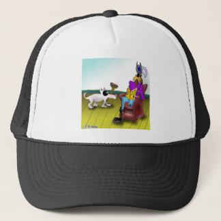 Fetching a Peg Leg Trucker Hat