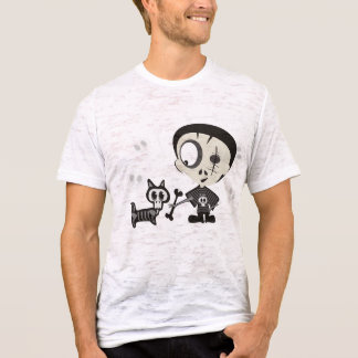 Fetching Living Dead Dog with Zombie T-Shirt