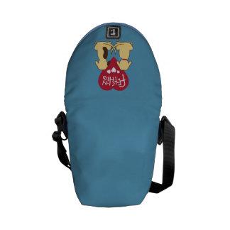 Fetching messenger bag