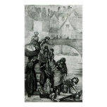 Fetching Water from the River Poster