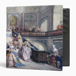 Fete at the Chateau de Versailles 3 Ring Binder