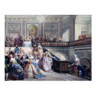 Fete at the Chateau de Versailles Postcard
