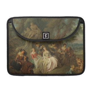 Fête Champêtre, c. 1730 (oil on canvas) MacBook Pro Sleeve