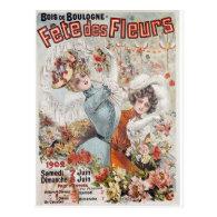 Fete de Fleurs Post Cards