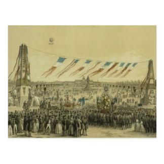 Fête de la Concorde - 1848 Postcard