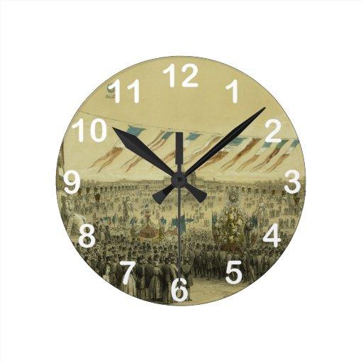 Fête de la Concorde - Gaildreau, Fichot (1848) Reloj
