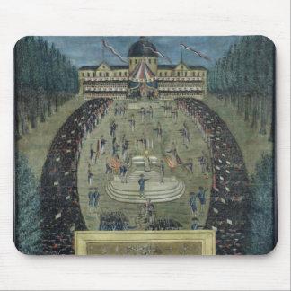 Fete de la Federation, el 14 de julio de 1790 Tapete De Ratones