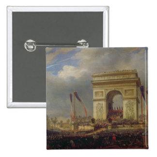 Fete de la Fraternite at the Arc de Triomphe Button