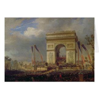 Fete de la Fraternite at the Arc de Triomphe Card