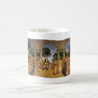 Fete florentino, 1916 taza básica blanca