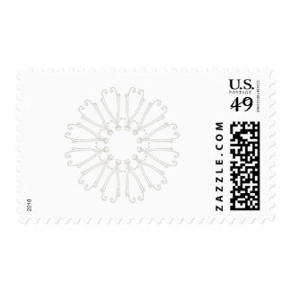 FETE ZAZZLE STAMP (Avery Collection)