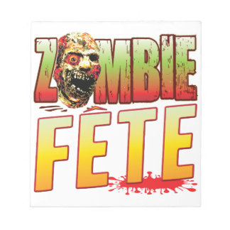 Fete Zombie Head Memo Note Pads