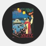 Fetes del DES de Vichy Comite Pegatina Redonda