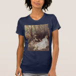 Fêtes Galantes Detail By Watteau Antoine Shirt