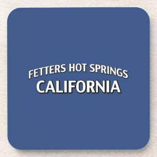 Fetters Hot Springs California Beverage Coaster