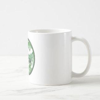 fetti-logotipo taza básica blanca