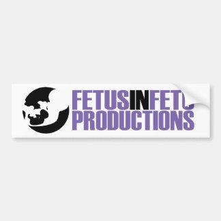 Fetus in Fetu bumper sticker 2 Car Bumper Sticker