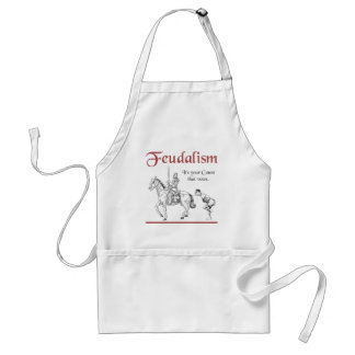 Feudalism - It's your Count that votes Adult Apron