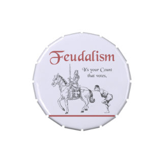 Feudalism - It's your Count that votes Candy Tin