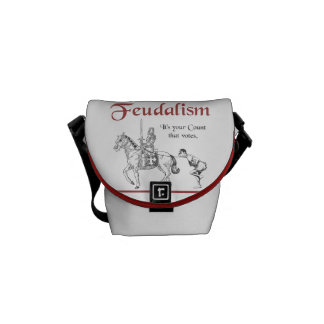 Feudalism - It's your Count that votes Courier Bag