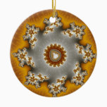 Feulia - Fractal Ceramic Ornament