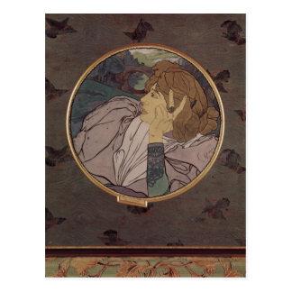 Feure, Georges de Die Stimme des B?sen oder Melanc Postcard