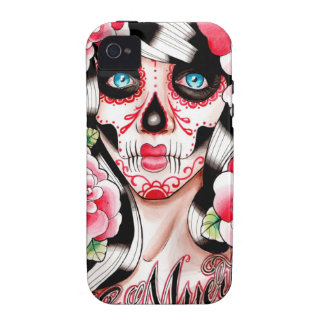Fever Day of the Dead Sugar Skull Girl Vibe iPhone 4 Case