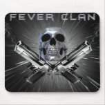 Fever Skull Mouse Pad