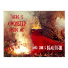 Feversong Beautiful Monster Postcard
