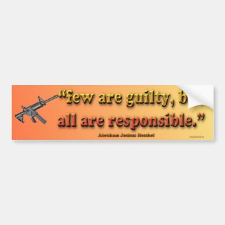 few are guilty... bumper sticker