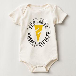 Few Can Be Where I Have Been Baby Bodysuit
