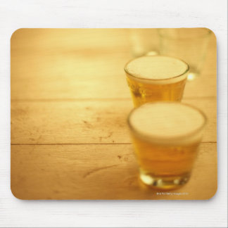 Few glasses of beer mouse pads