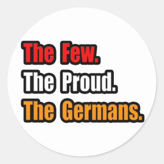 Few Proud Germans Classic Round Sticker