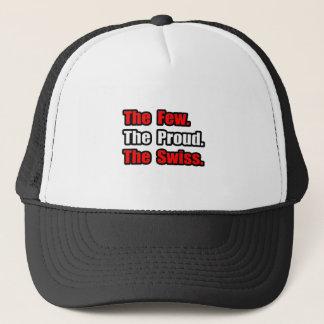 Few Proud Swiss Trucker Hat