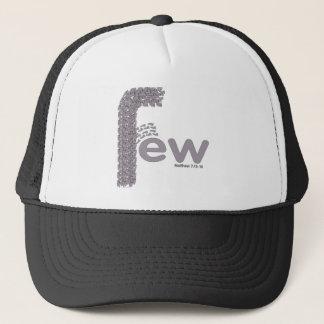 few trucker hat