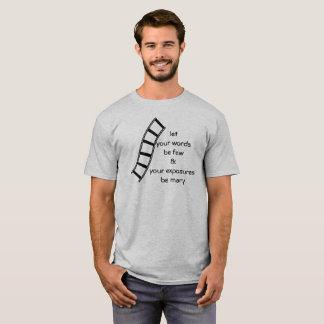 Few Words Many Exposures T-Shirt