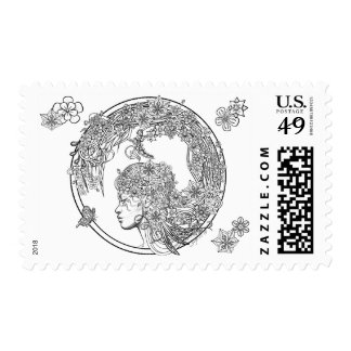 Fey Flower Stamp by Sonja A.S.
