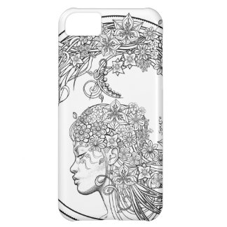 Fey Flower (wrapped around) by Sonja A.S. iPhone 5C Case