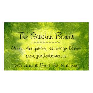 Fey Greenery Business Card