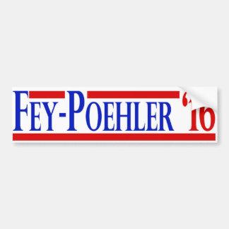 Fey / Poehler 2016 Campaign Sticker