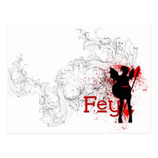 Fey Postcard