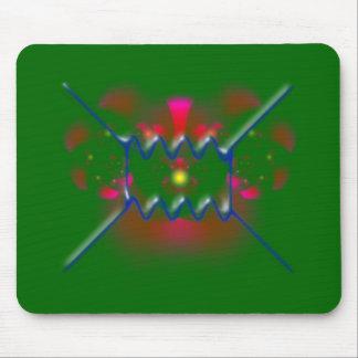 feynman diagram diagram mouse pad