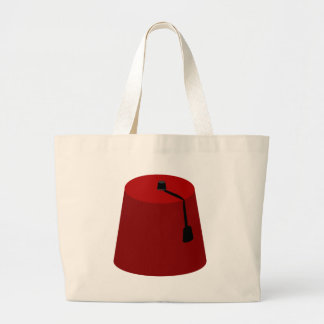 Fez-Hat Large Tote Bag