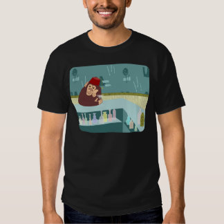 Fez Monkey Martini Bar Tee Shirt